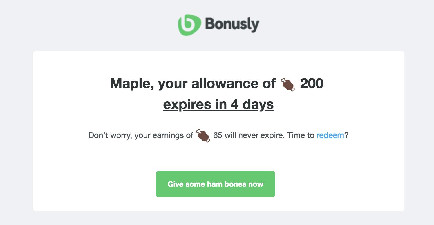 bonusly-reminder-email