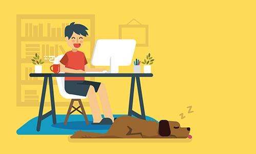 flexible-work-freelancer-home