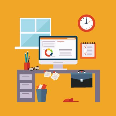 remote-work-desk-orange