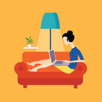 remote-work-orange-couch