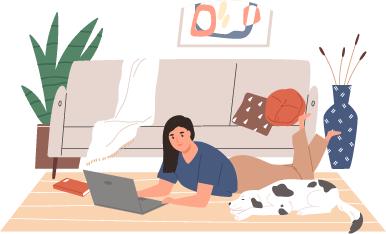 working-on-floor