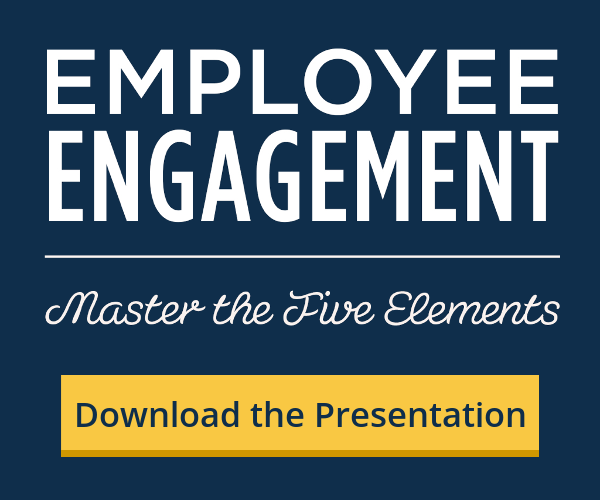 The Five Elements of Employee Engagement
