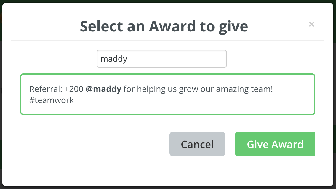 Announcing our new Awards feature